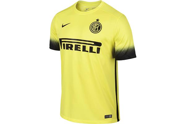 黄色国际米兰球衣