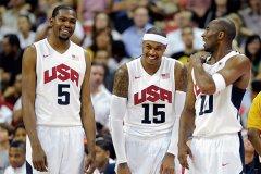 2012年奥运会男篮决赛 美国男篮击败