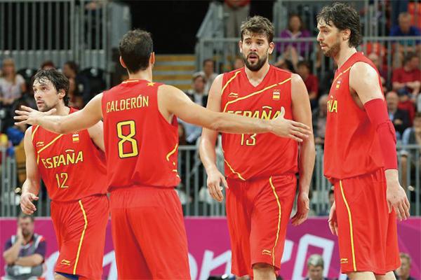 西班牙男篮队员