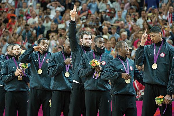 美国男篮夺冠