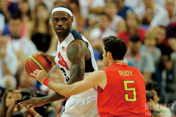 重温美国男篮VS西班牙比赛 三次奥运会男篮对决成经典