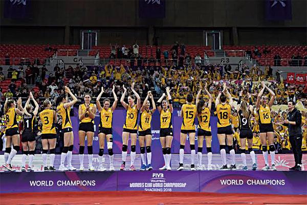 女排世界总决赛冠军是谁?女排世界总决赛中国女排第几?