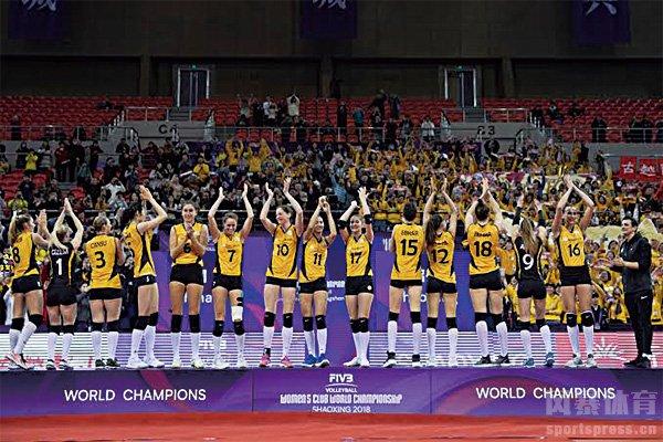 美国女排夺冠