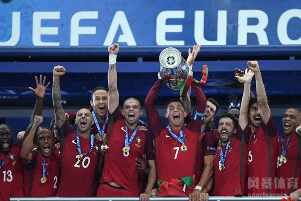 2016欧洲杯最终葡萄牙夺冠