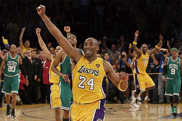 2010年湖人打败凯尔特人夺标