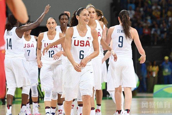 美国女篮球星云集