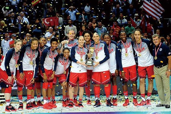 美国女篮世界杯夺冠