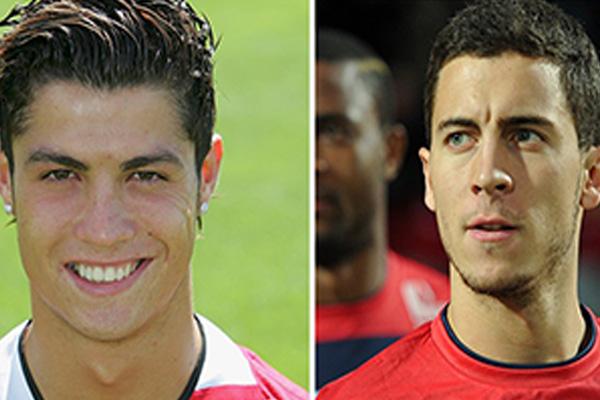 C罗20岁是什么样的?盘点足球巨星20岁时的样子!