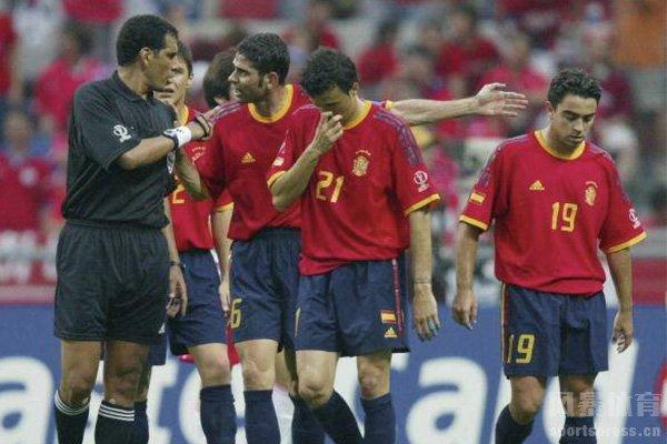 西班牙队也是假球受害者