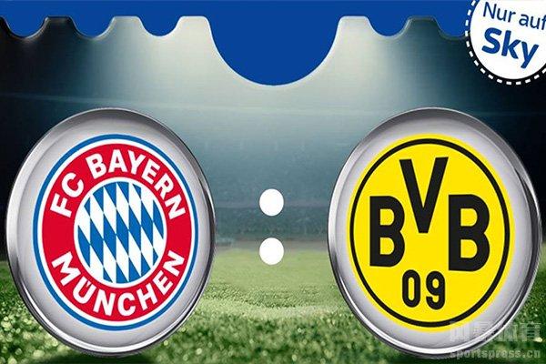 拜仁与多特一直是德甲的两大霸主