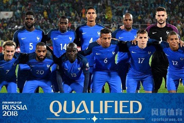 2018世界杯法国队阵容十分强大