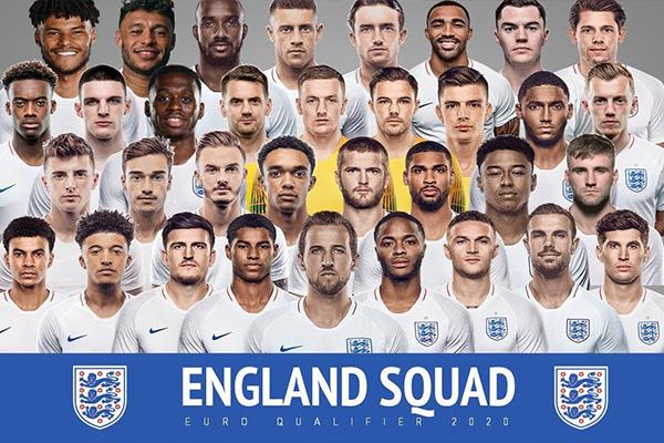 英格兰国家队阵容分析!阵容豪华程度不低于俱乐部!
