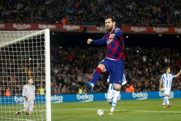 最终凭借梅西得进球巴萨取得了胜利
