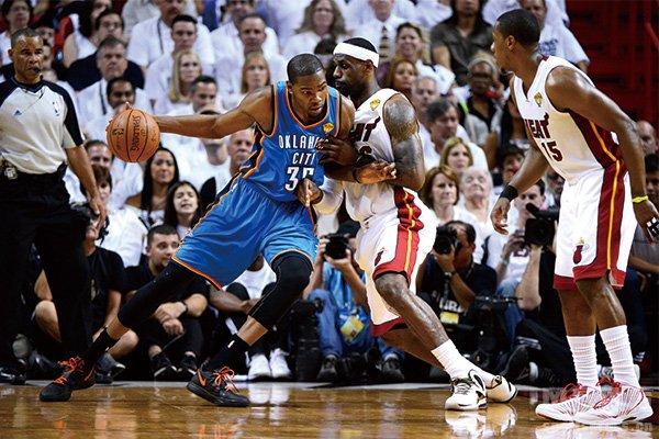 2012年NBA总决赛杜兰特VS詹姆斯