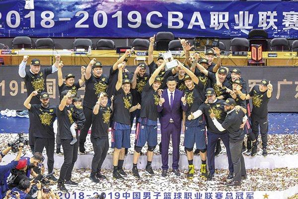 广东堪称八一之后CBA最强王朝球队