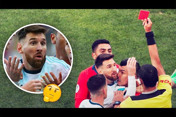 梅西吃到红牌是怎么回事?盘点梅西那红牌的全过程!