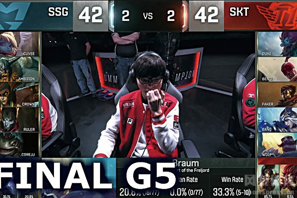 S6决赛SSG对阵SKT1