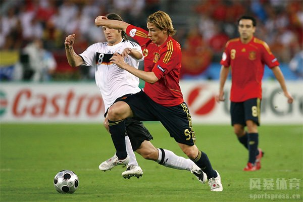 08年欧洲杯的托雷斯