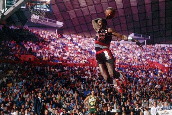 NBA滑翔机 德雷克斯勒生涯十大扣篮