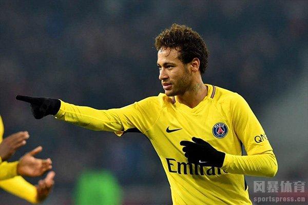 内马尔目前为巴黎效力,期待未来2022年世界杯的精彩表现