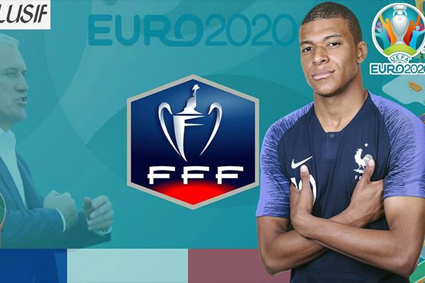 姆巴佩目前是法国队重要的前锋!期待今年的欧洲杯!
