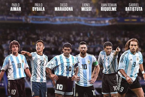 阿根廷拥有梅西而备受期待,其实不光是梅西,迪玛利亚,迪巴拉都是非常强的任意球大师