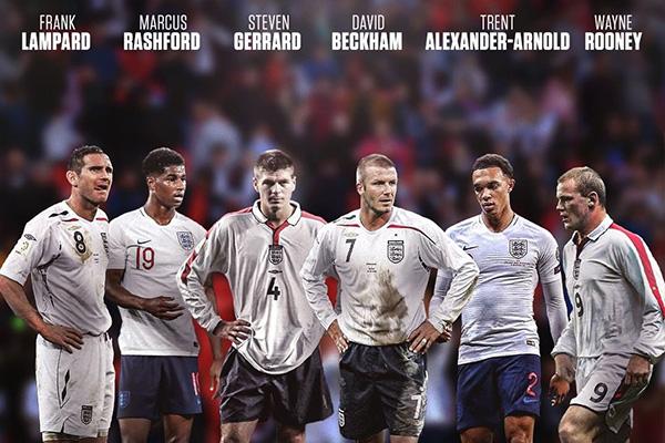 英格兰非常强大,贝克汉姆自创的圆月弯刀至今仍然让球迷传颂