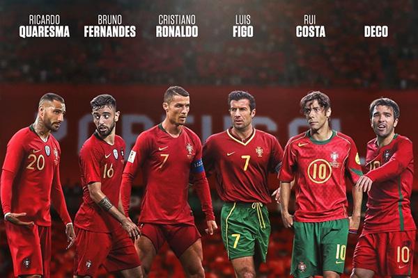 葡萄牙最近都是非常受关注的球队,就因为C罗,其实葡萄牙的黄金一代也是十分强大