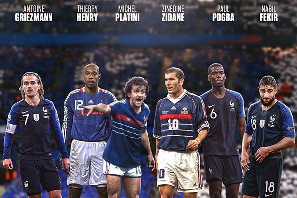 法国队就不用多说,豪华的阵容,众星云集,早起齐达内中场的控制更是强大无比