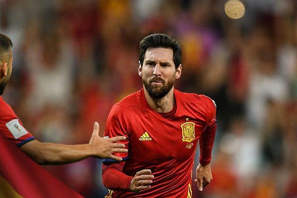 梅西要为西班牙效力,可能早就获得了世界杯冠军