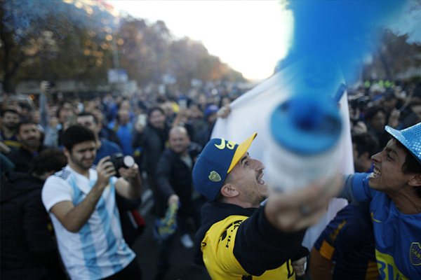 阿根廷联赛近期宣布直接结束,按照现在的排名积分来决定冠军