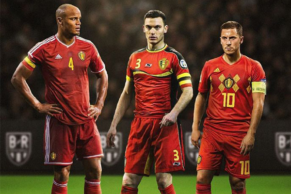 无疑比利时目前一直排名世界第一,目前阿扎尔仍然带领着比利时一路前进