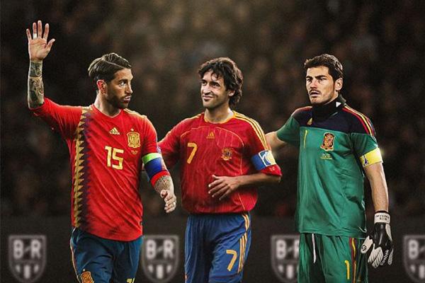 西班牙的强一直是世界公认的,同是皇马和西班牙的队长拉莫斯一直是领袖人物,期待他能带领西班牙人更创辉煌