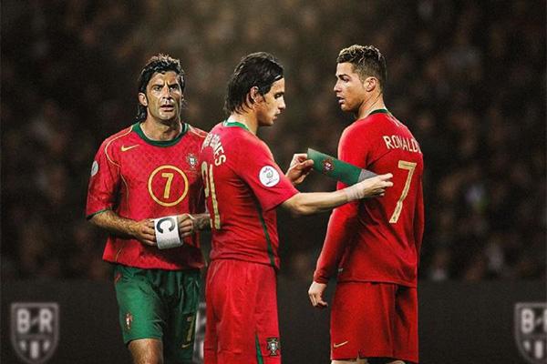 无疑葡萄牙最强的就是C罗,C罗带领葡萄牙获得了巅峰一代未达成的荣誉