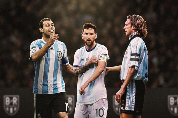 梅西在国家队虽然表现不佳,但无疑梅西一直是阿根廷的领袖,没有梅西阿根廷在世界只能处于中游球队