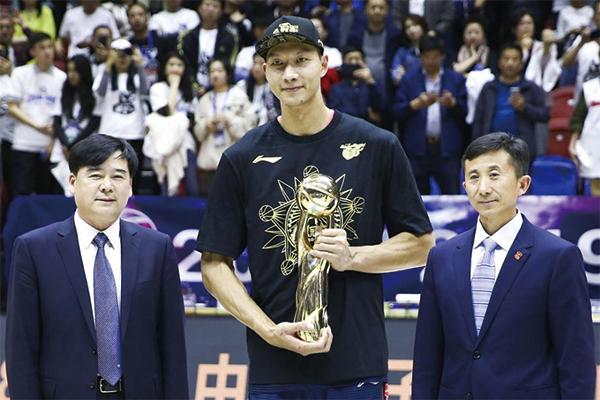 易建联获得总决赛MVP