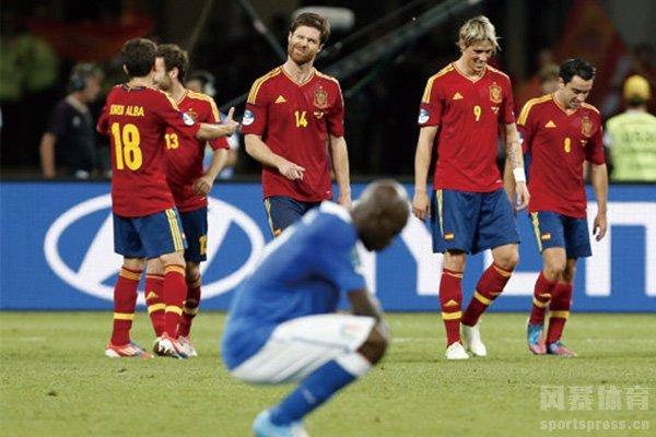 2012欧洲杯决赛西班牙4:0意大利 斗牛士最后的辉煌