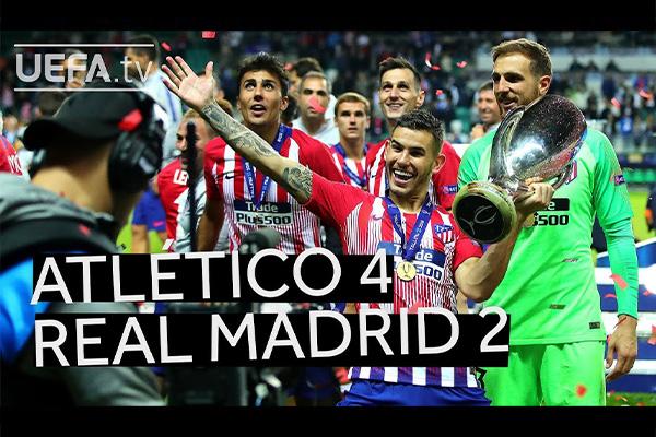 马竞4比2击败皇马!马德里竞技难得的胜利!