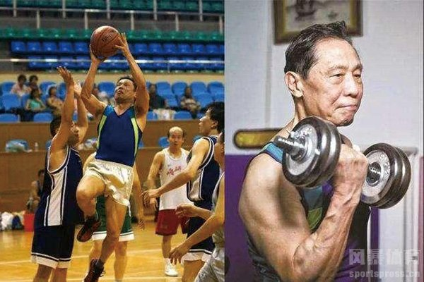 钟南山院士爱好体育锻炼