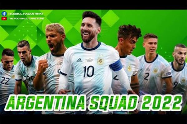 2022世界杯阿根廷火力十足!梅西带领下的阿根廷状态爆棚!