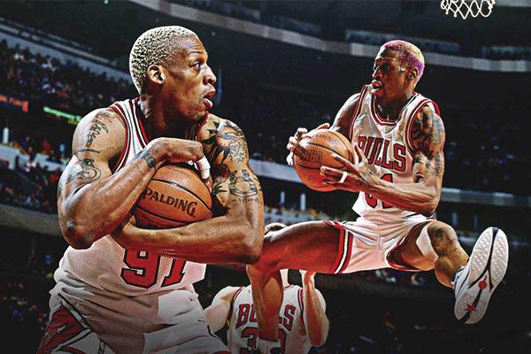 罗德曼34篮板视频 罗德曼34个篮板集锦