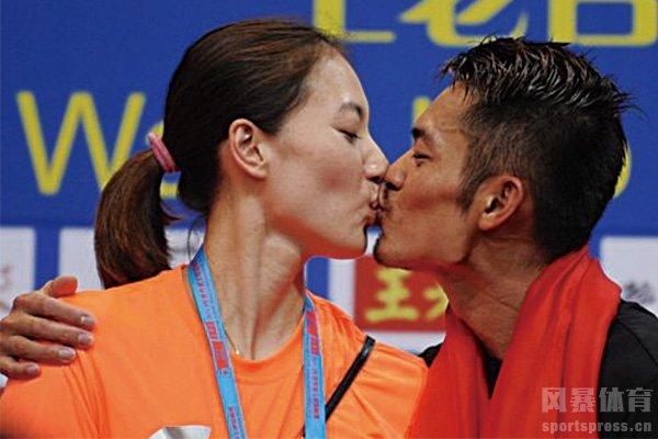 林丹与老婆谢杏芳