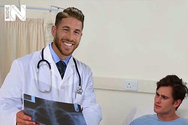 拉莫斯虽然在球场十分霸气,但当了医生一定是个好医生
