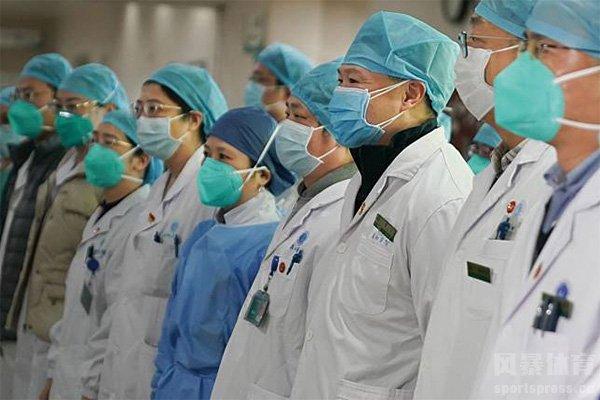 广大医护人员为控制疫情发挥极大作用