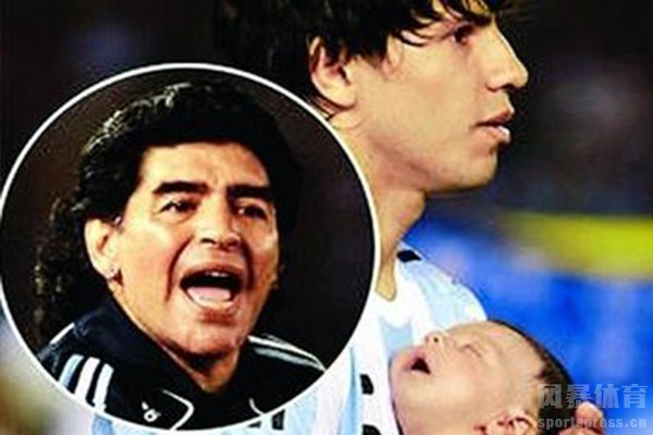 自阿圭罗离婚之后马拉多纳就一直骂阿圭罗