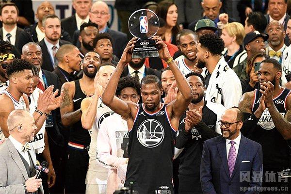 杜兰特是NBA近几十年最强的榜眼秀