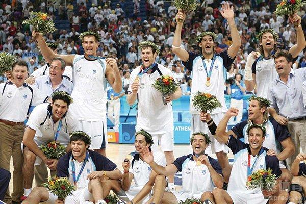 阿根廷男篮奥运会夺冠