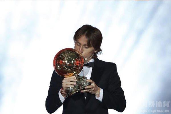 不过莫德里奇获得金球奖仍然十分开心