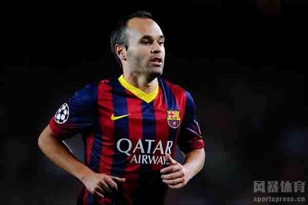 伊涅斯塔是西班牙足球的英雄