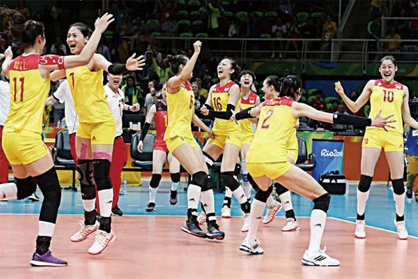 女排五连冠是哪五冠?中国女排五连冠分别是哪几年?